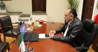#EnUltraNoticias   El secretario de gobernación, David Méndez